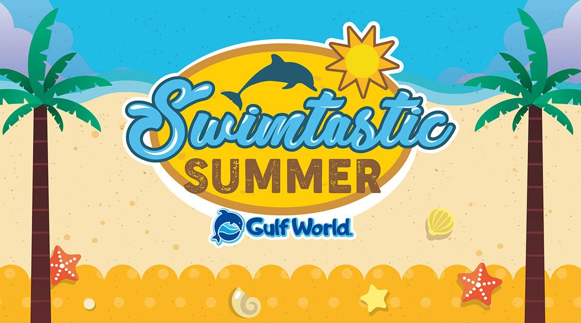 Swimtastic Summer at Gulf World